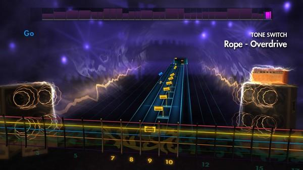 "Скриншот №2 к Rocksmith® 2014 – Foo Fighters - ""Rope"""