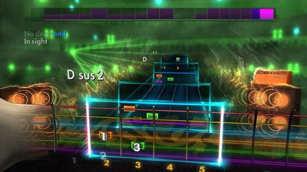 Скриншот №4 к Rocksmith® 2014 – Foo Fighters Song Pack II