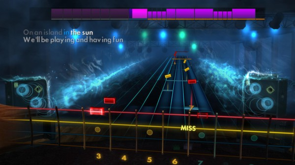 "Скриншот №3 к Rocksmith® 2014 – Weezer - ""Island in the Sun"""