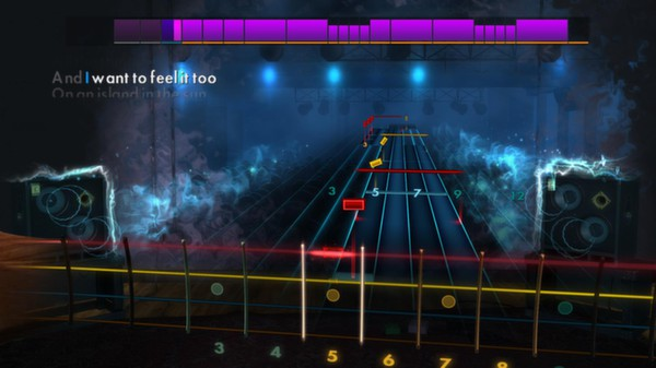 "Скриншот №2 к Rocksmith® 2014 – Weezer - ""Island in the Sun"""