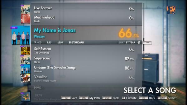 "Скриншот №1 к Rocksmith® 2014 – Weezer - ""My Name is Jonas"""