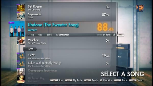 "Скриншот №1 к Rocksmith® 2014 – Weezer - ""Undone - The Sweater Song"""