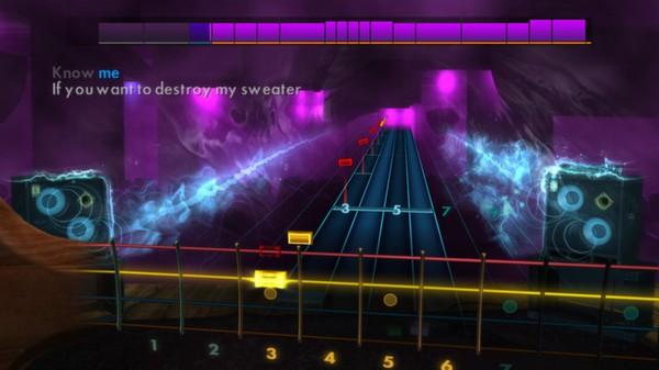 "Скриншот №3 к Rocksmith® 2014 – Weezer - ""Undone - The Sweater Song"""
