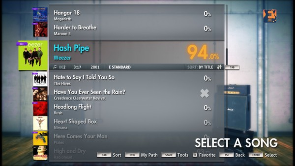 "Скриншот №1 к Rocksmith® 2014 – Weezer - ""Hash Pipe"""