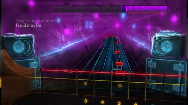 "Скриншот №5 к Rocksmith® 2014 – Oasis - ""Wonderwall"""