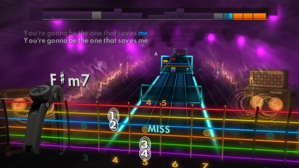 "Скриншот №3 к Rocksmith® 2014 – Oasis - ""Wonderwall"""
