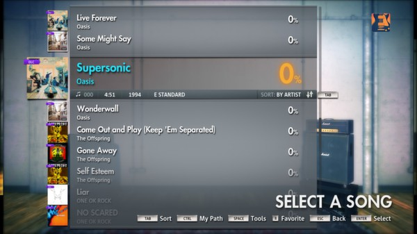 Скриншот №11 к Rocksmith® 2014 – Oasis Song Pack
