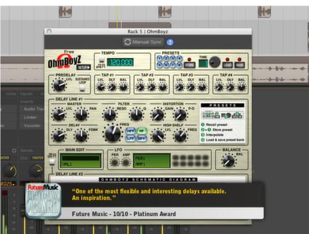 скриншот Ohm Studio Pro 1