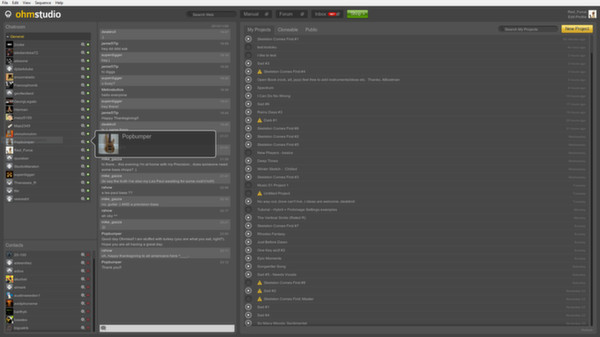 скриншот Ohm Cloud 1