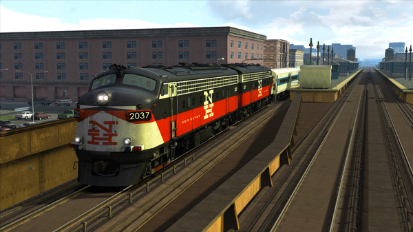скриншот Train Simulator: New Haven FL9 Loco Add-On 1