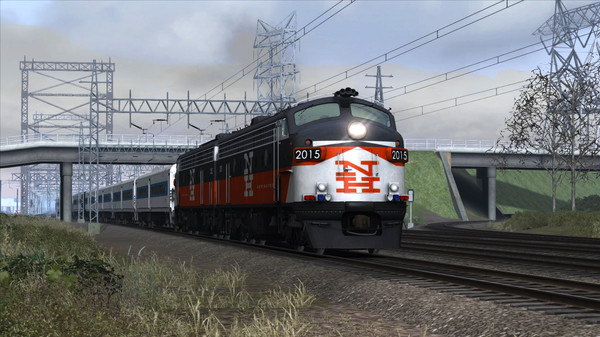 скриншот Train Simulator: New Haven FL9 Loco Add-On 0