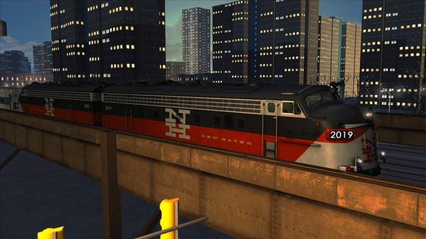 скриншот Train Simulator: New Haven FL9 Loco Add-On 5