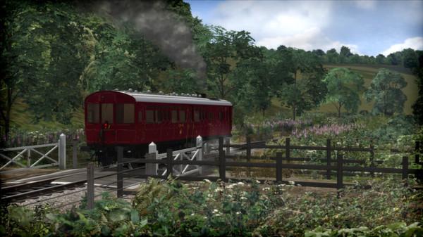 скриншот GWR Steam Railmotor Loco Add-On 5