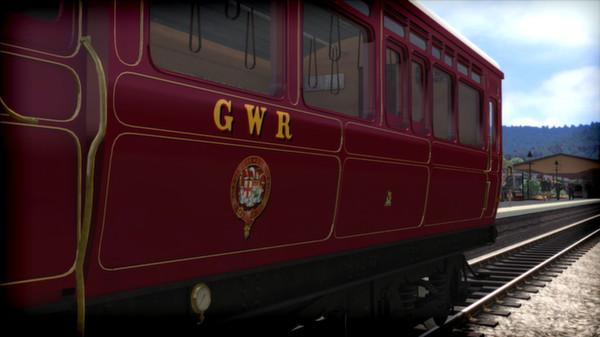 скриншот GWR Steam Railmotor Loco Add-On 2