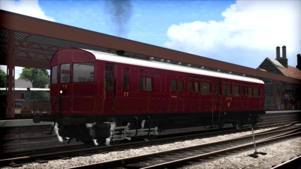 скриншот GWR Steam Railmotor Loco Add-On 0