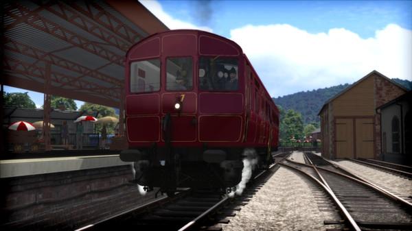 скриншот GWR Steam Railmotor Loco Add-On 1