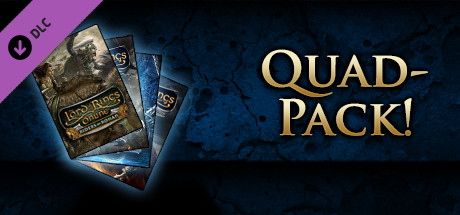 The Lord of the Rings Online: Quad Pack