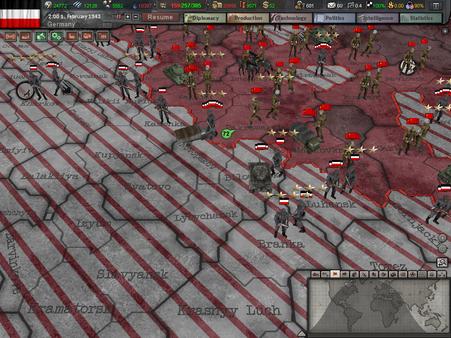 Hearts of Iron III скриншот