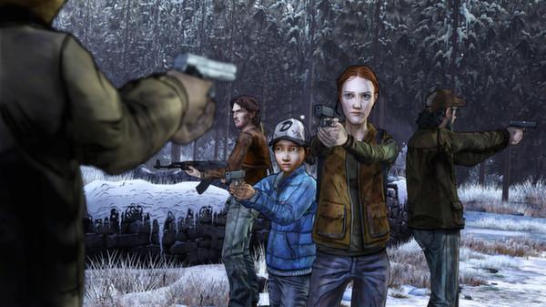 Скриншот №2 к The Walking Dead Season Two