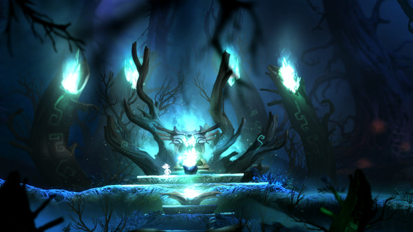 Скриншот №26 к Ori and the Blind Forest