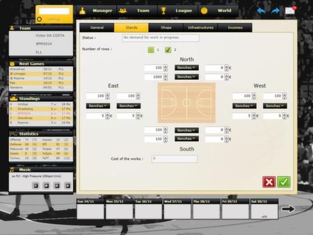 скриншот Basketball Pro Management 2014 1
