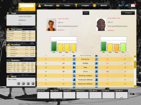 скриншот Basketball Pro Management 2014 3