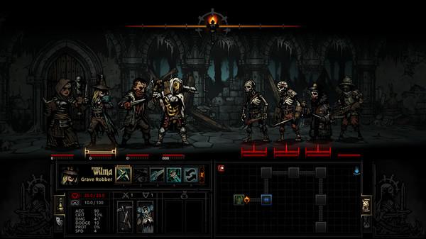 Скриншот №1 к Darkest Dungeon®