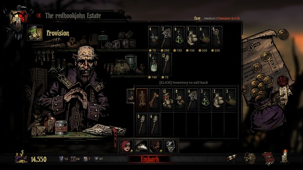 Скриншот №13 к Darkest Dungeon®
