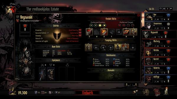 Скриншот №23 к Darkest Dungeon®