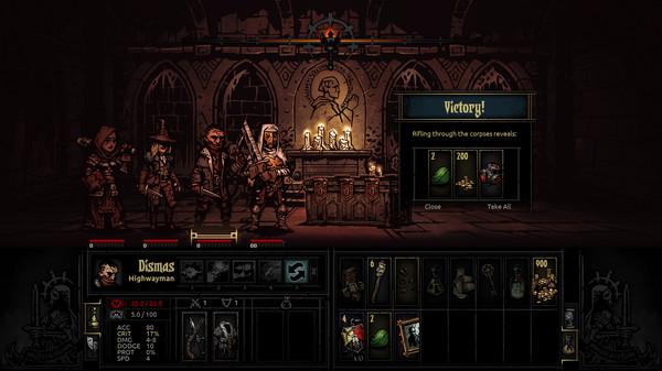 Скриншот №15 к Darkest Dungeon®