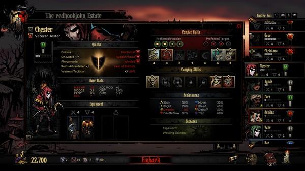 Скриншот №3 к Darkest Dungeon®