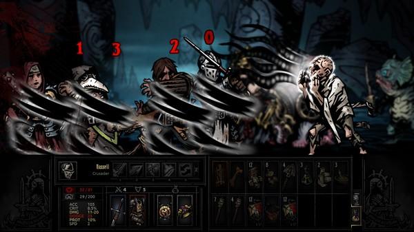 Darkest Dungeon скриншот