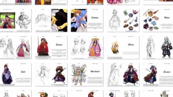 скриншот 99 Spirits - Art Book + Music Collection 3