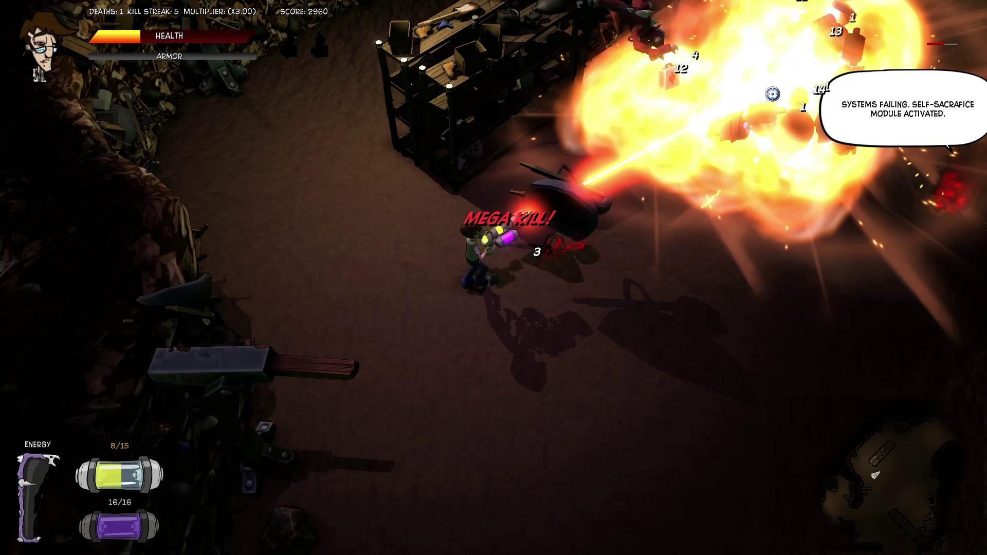 Tom vs. The Armies of Hell Screenshot 1
