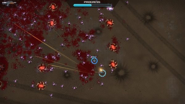 Crimsonland скриншот