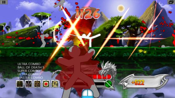 Screenshot of One Finger Death Punch