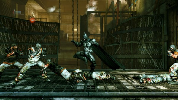 Скриншот №4 к Batman™ Arkham Origins Blackgate - Deluxe Edition