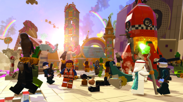 Скриншот №3 к The LEGO® Movie - Videogame