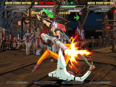 Guilty Gear Isuka Captura 1