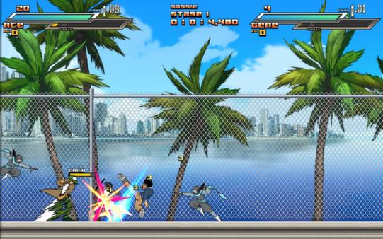 скриншот Aces Wild: Manic Brawling Action! 3
