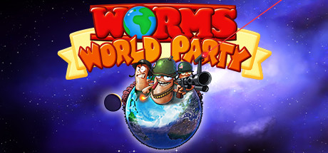 Game Banner Worms World Party Remastered