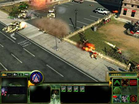 Скриншот №3 к Act of War Direct Action