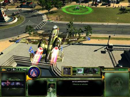 Скриншот №7 к Act of War Direct Action
