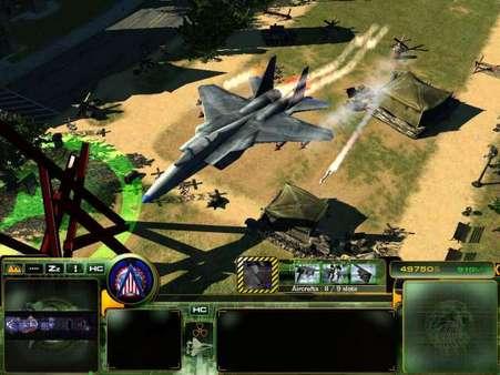 Скриншот №10 к Act of War Direct Action