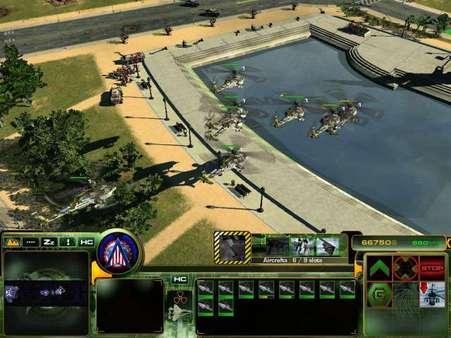 Скриншот №11 к Act of War Direct Action