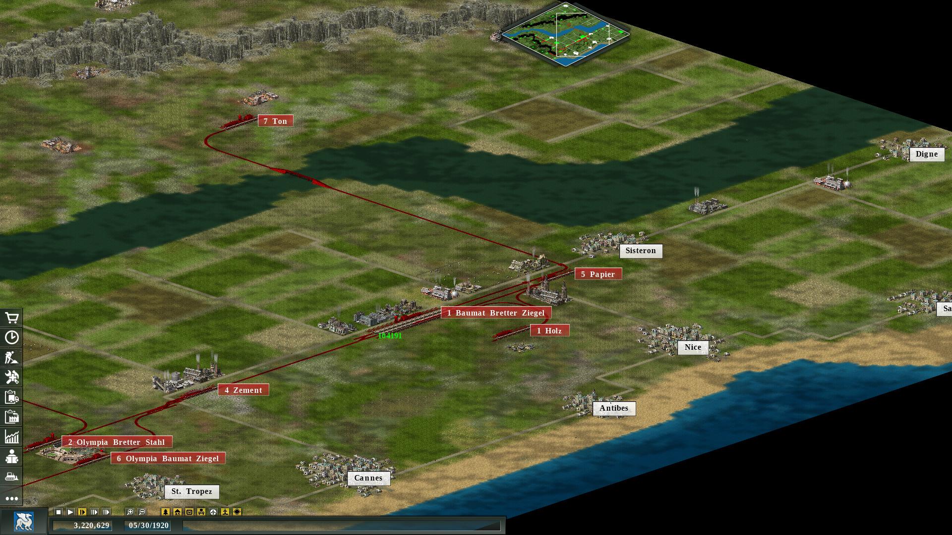 Transport Giant: Steam Edition Screenshot 1
