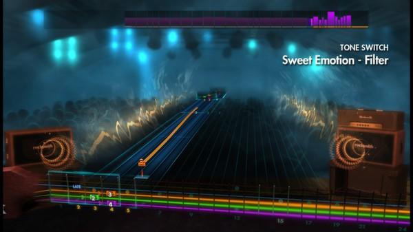 "Скриншот №1 к Rocksmith® 2014 – Aerosmith - ""Sweet Emotion"""