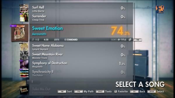 "Скриншот №2 к Rocksmith® 2014 – Aerosmith - ""Sweet Emotion"""