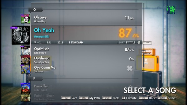 "Скриншот №2 к Rocksmith® 2014 – Aerosmith - ""Oh Yeah"""