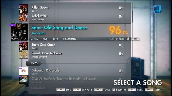 Скриншот №11 к Rocksmith® 2014 – Aerosmith Song Pack